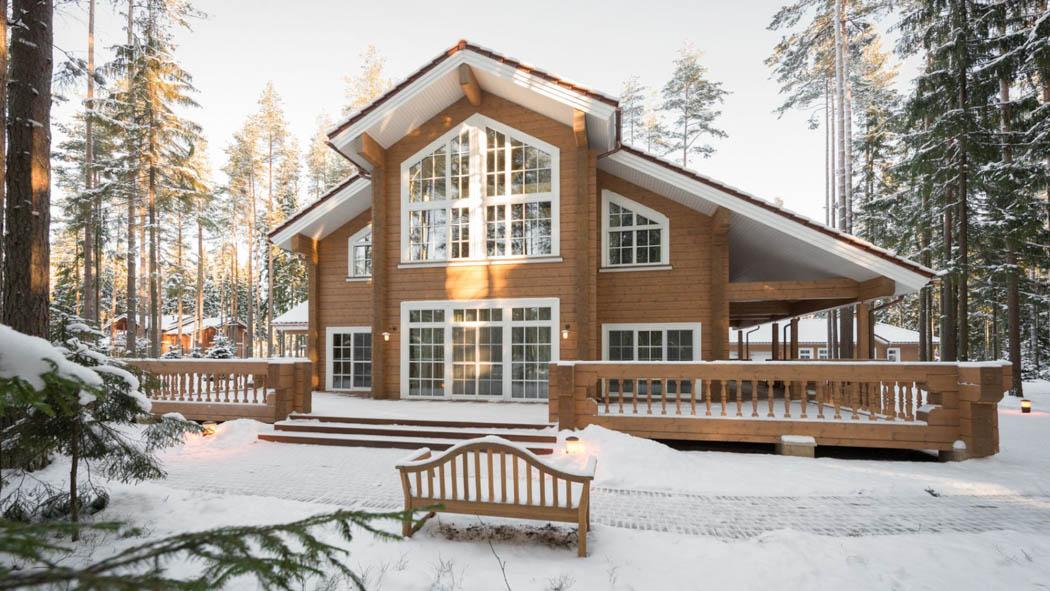 Rovaniemi Log House Finnish Log Houses Amp Log Homes