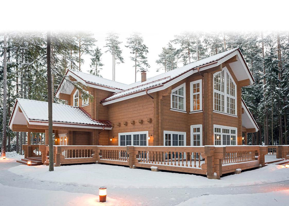 Rovaniemi blockhäuser aus finnland finnisches blockhaus naturstammhaus
