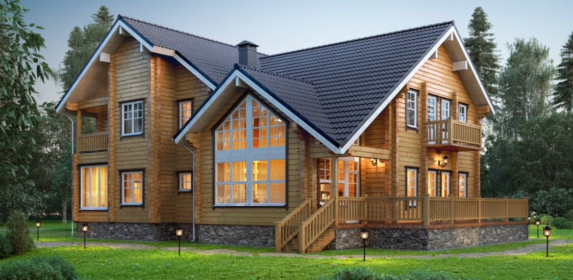 Http Www Loghouse Fi Wooden House Construction Projects