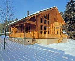 Proyecto escandinavo : alta calidad de casa de madera laminada de Finlandia.