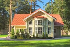 Villa laponesa de madera de Finlandia