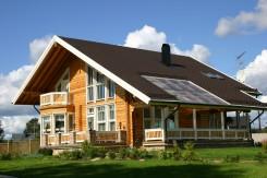 Casa de madera de Finlandia: Modelo Escandinavo de casa de madera