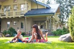 Casas de madera familiares de origen finlandes