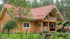 Villa de madera de Finlandia – Casa de lujo de madera finlandesa