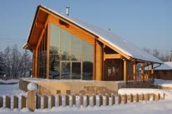 Moderna casa finlandesa de madera: Proyecto abanderado