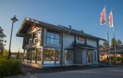 La oficina central de Rovaniemi Casas de Madera está en el Círculo Polar Ártico en la Laponia finlandesa.