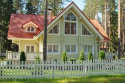 Modelo Casa Sueca: casas de madera de Rovaniemi casas de madera