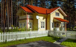 Karelia model – Wooden country house from Finland