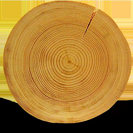 Rovaniemi Log House bruker bare de beste naturlige materialene som finnes i skogene i finske Lappland.