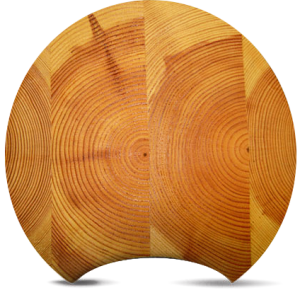 Laminated Round Log