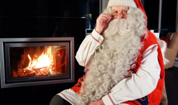 Santa Claus from Lapland