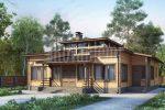 Charisma –modern Finnish wooden house by Rovaniemi Log House.