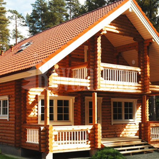 Country House by Rovaniemi Log House