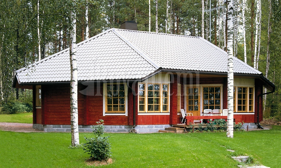 Summer House – Rovaniemi Log House