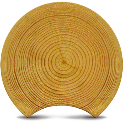 Classic round log material