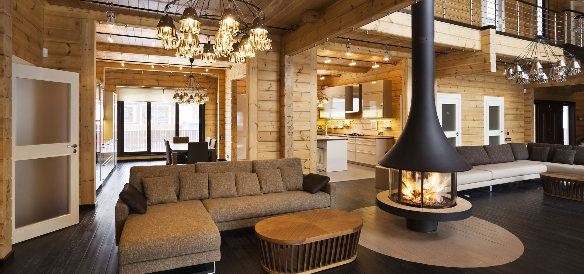 Rovaniemi maison en bois est spécialisé dans maison en bois de haute gamme