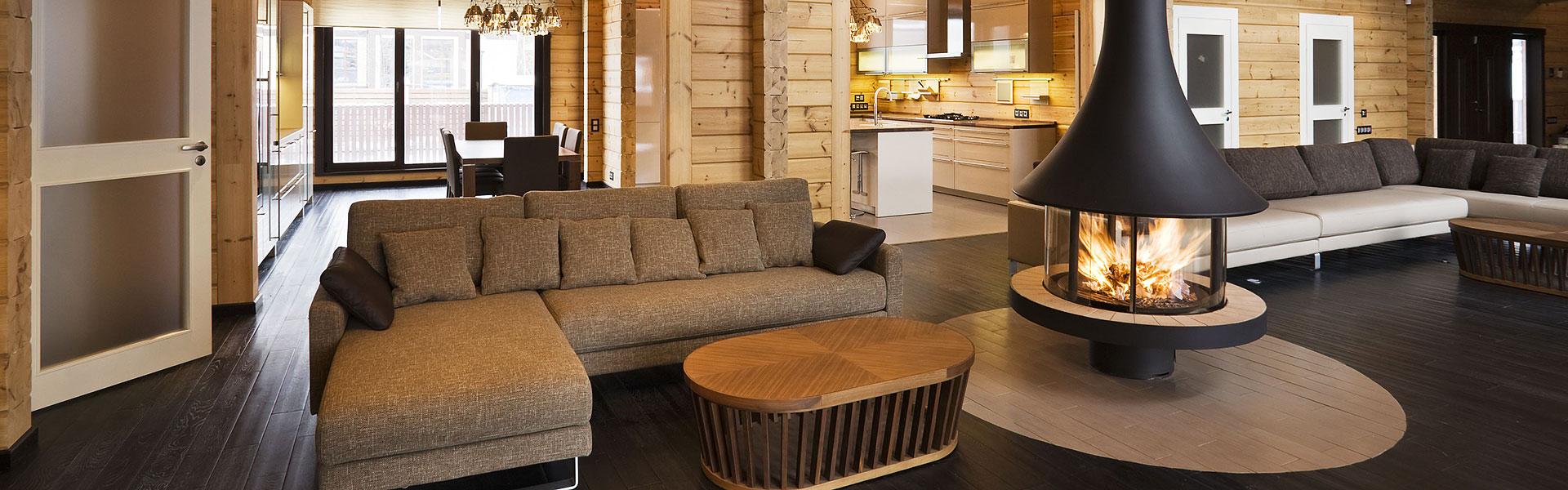 Rovaniemi Casas de Madera proporciona casas de madera de calidad de la Laponia finlandesa.