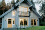 'The Classic' – Finnish wooden house by Rovaniemi Log House