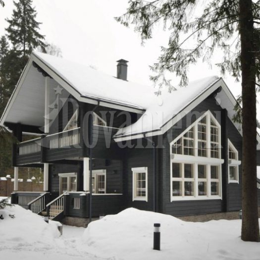 Anastasia – quality Finnish log cottage by Rovaniemi Log House