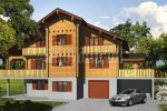 Greek house by Rovaniemi Log House