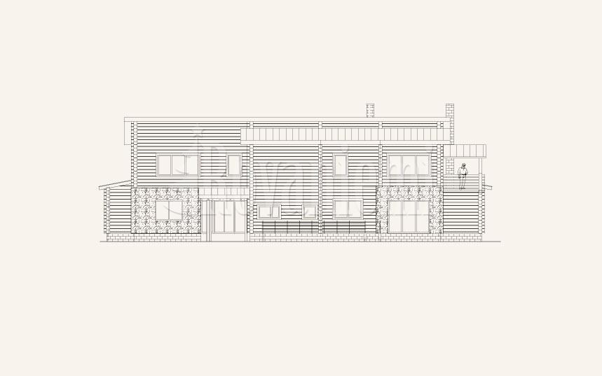 Harmony G facade –by Rovaniemi Log House