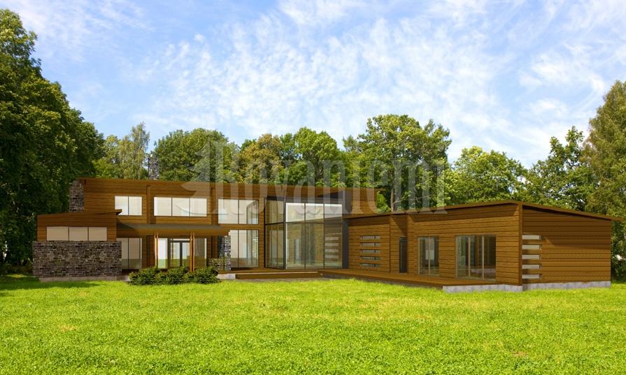 Harmony G –Modern luxury house by Rovaniemi Log House