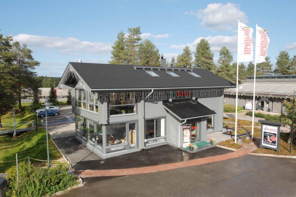 Rovaniemi laftehus –Hovedkontor i Finland.