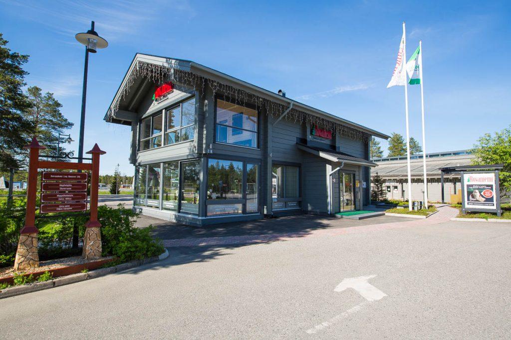 Rovaniemi ist Lieferant von echten Block Holzhäusern aus Lappland. Kontaktiere uns!