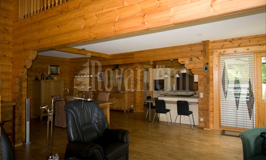 Nord – interior photo – Rovaniemi Log House