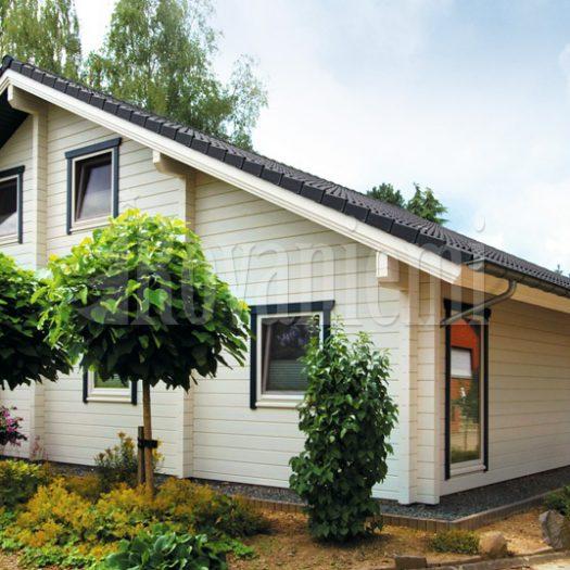 Nord - floor plan, 1st floor – Rovaniemi Log House