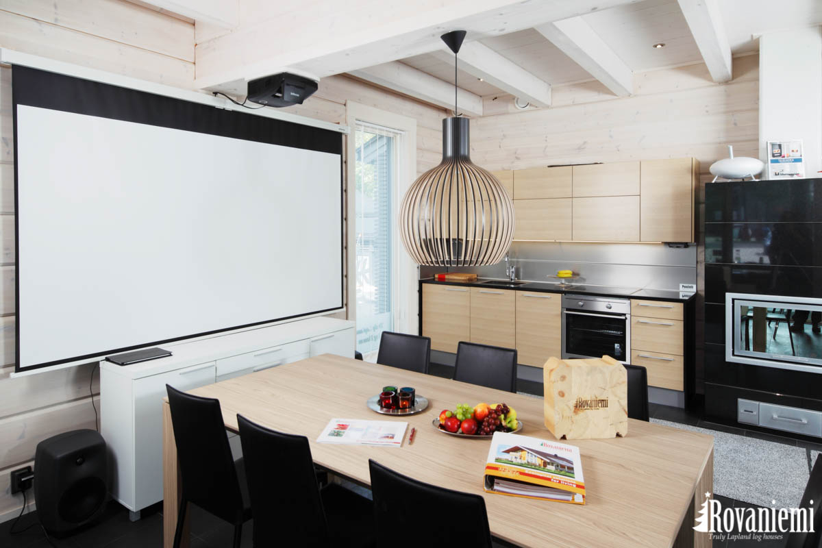 Beautiful kitchen at Rovaniemi's Kieppi head office