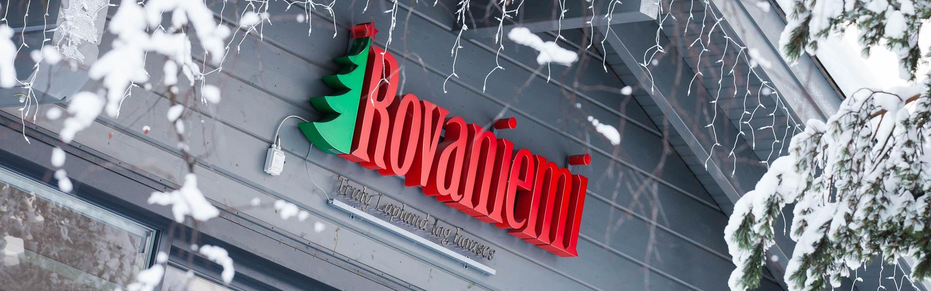 Rovaniemi Log House er produsent av autentiske trehus fra finske Lappland.