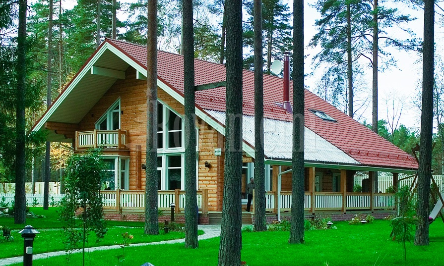 Scandinavia MK – modern wooden cottage with large terrace