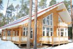Scandinavia –modern and stylish wooden cottage by Rovaniemi Log House