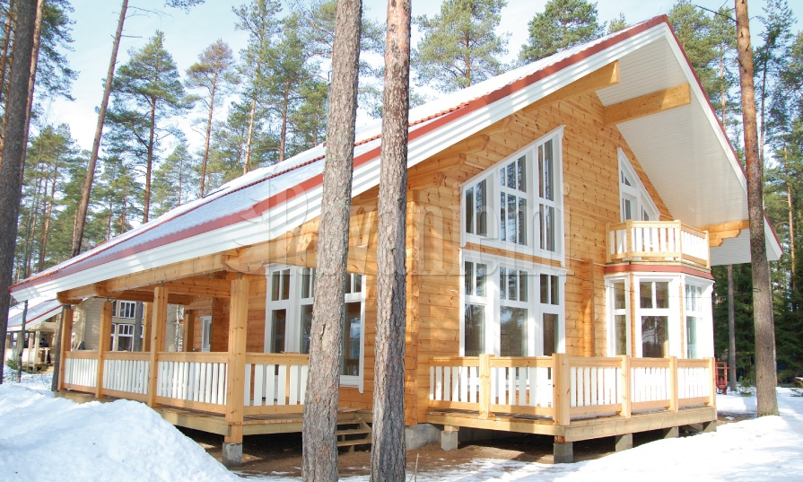 Scandinavia –modern and stylish wooden cottage by Aito Log Houses