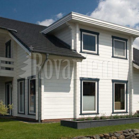 Sonata –stylish wooden house from Rovaniemi Log House