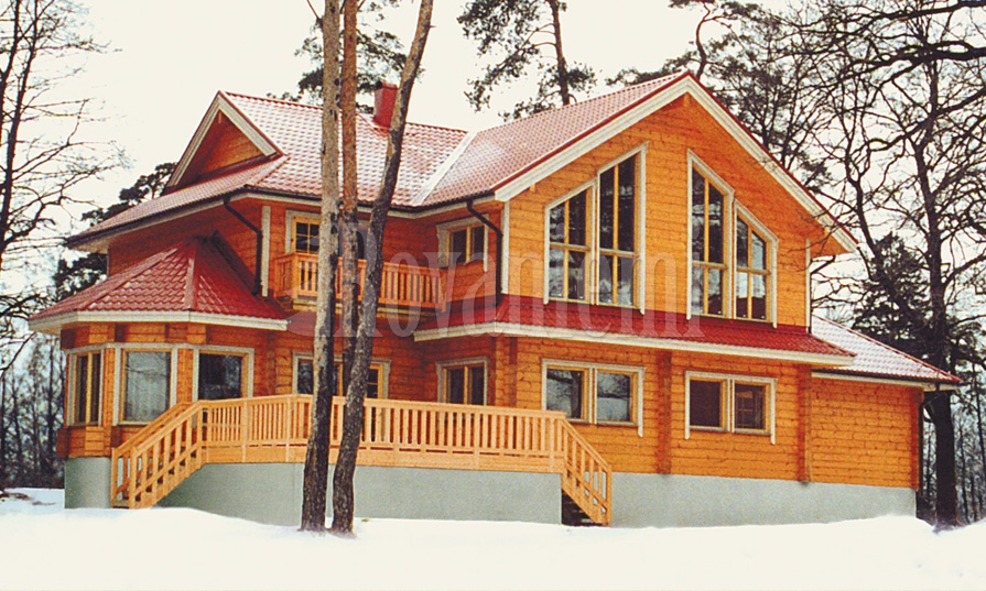 VIlla – quality wooden cottage by Rovaniemi Log House