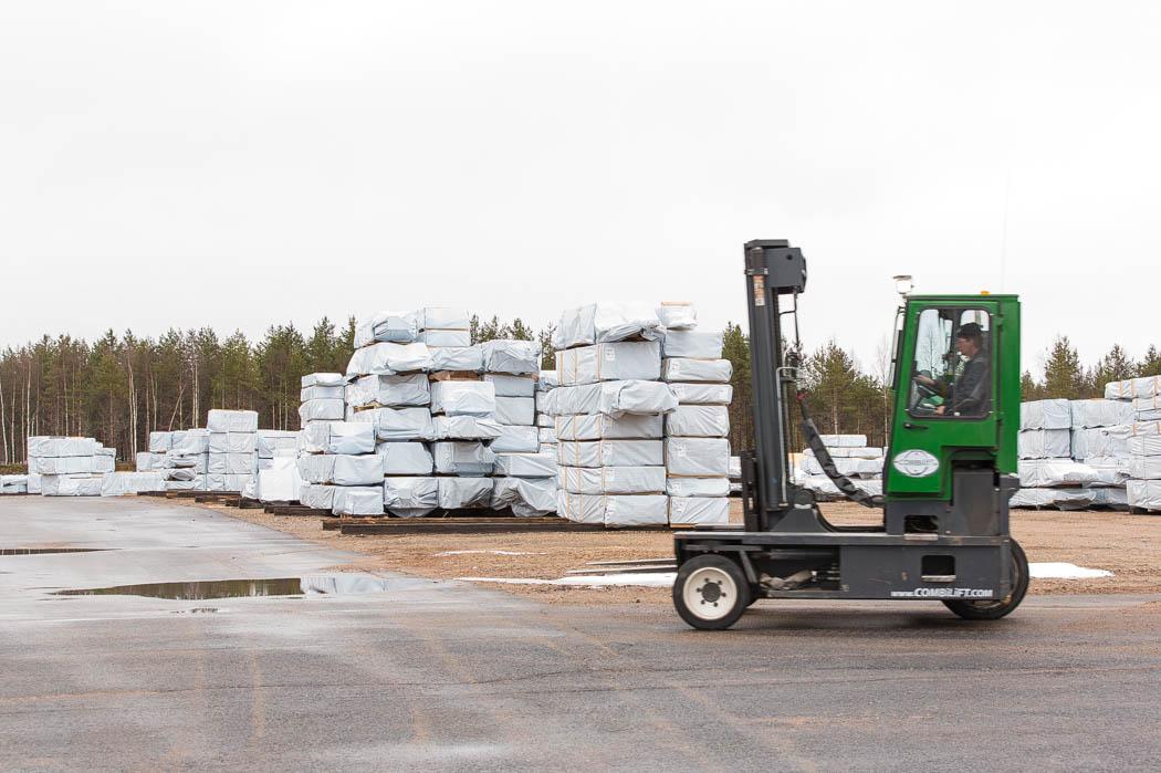 Prefabrykowane domy firmy Rovaniemisą dostarczane na teren całej Europy.