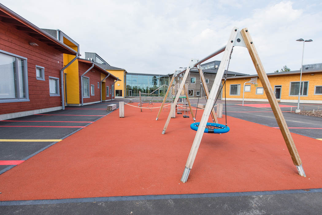 Pudasjärvi Log Campus – Playground.