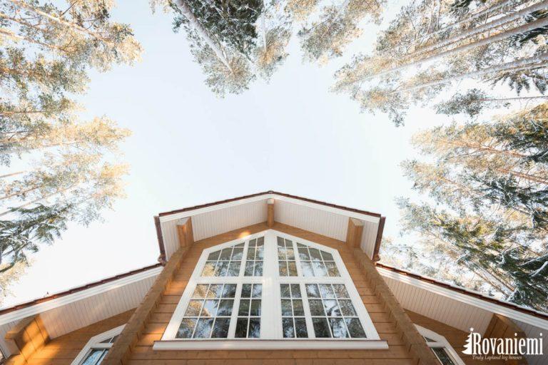 Maison en bois finlandaise Helios Rovaniemi maison en bois.