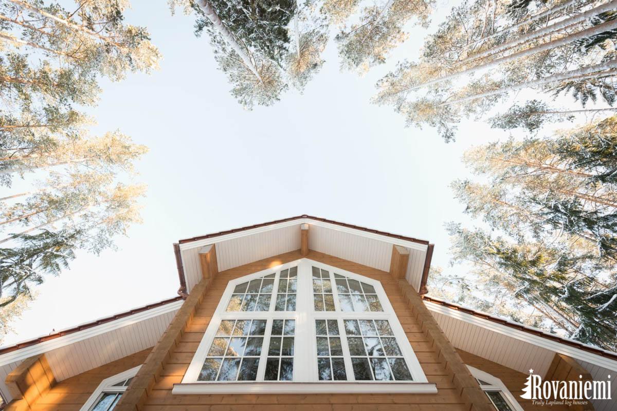 Luxus Holzhaus von Finnland –Rovaniemi Blockhauser.