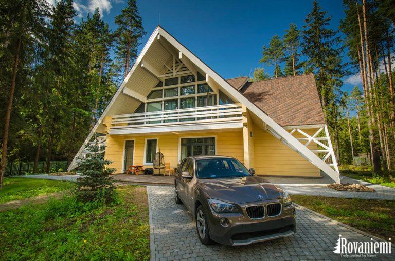 Modell Hope Zeitgenossisches Holzhaus Finnland Rovaniemi.