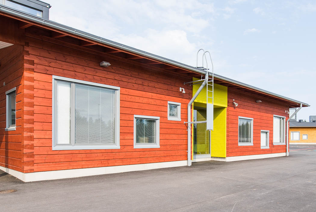 City corner is an ideal option for the city living. Pudasjarvi Finland.