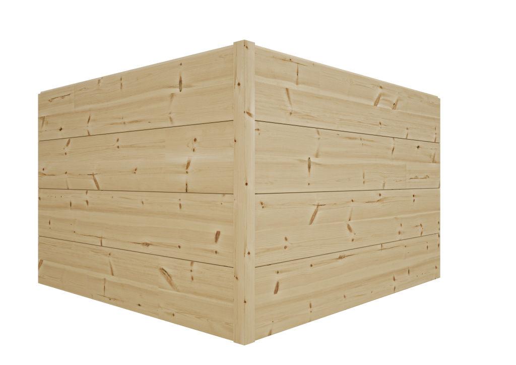 Log House Neo Corner Solution