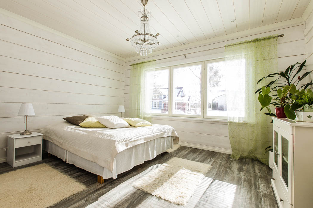 Rovaniemi Log House in Oulu, Finland – Second Bedroom