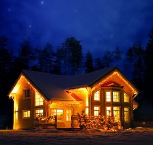 Luxury Finnish log home provided to Russia by Aito Log Houses